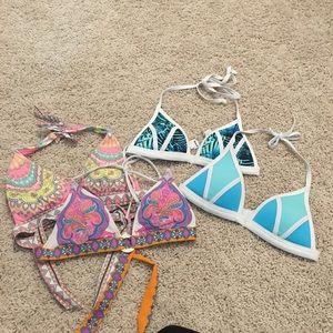 Victoria's Secret (PINK) Size XS Bikini Top Bundle